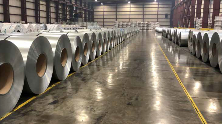 Winsby markets EDCOAT's coated metals business to target markets